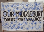 Our Middlebury Divests from Violence